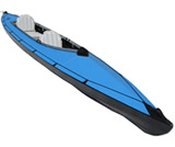 Assembled kayak